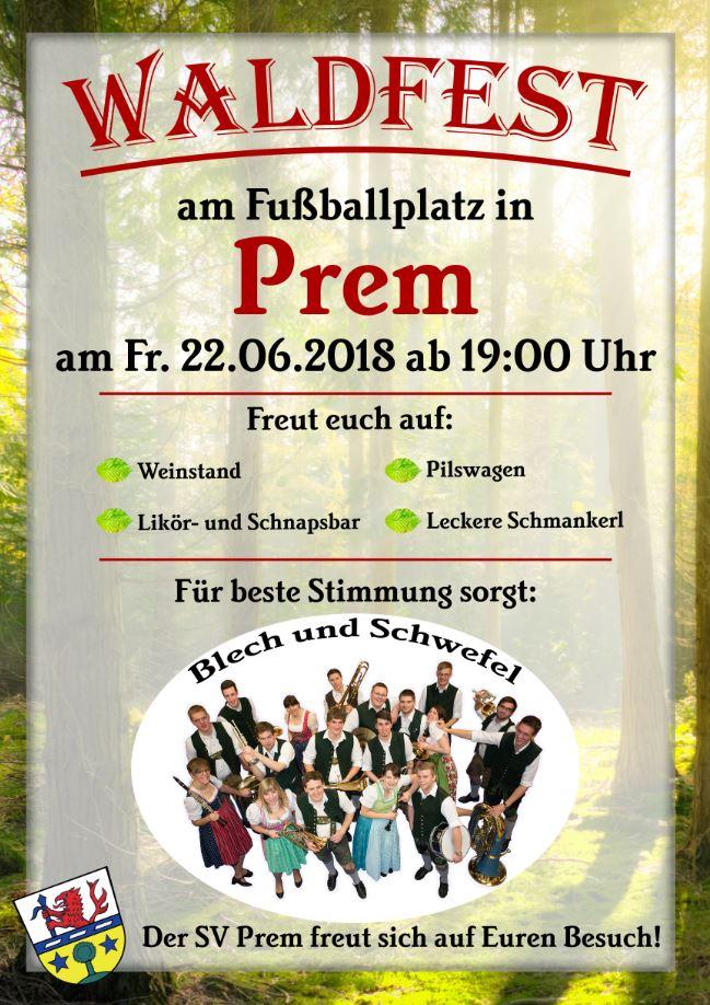 SV Prem - Waldfest 2018