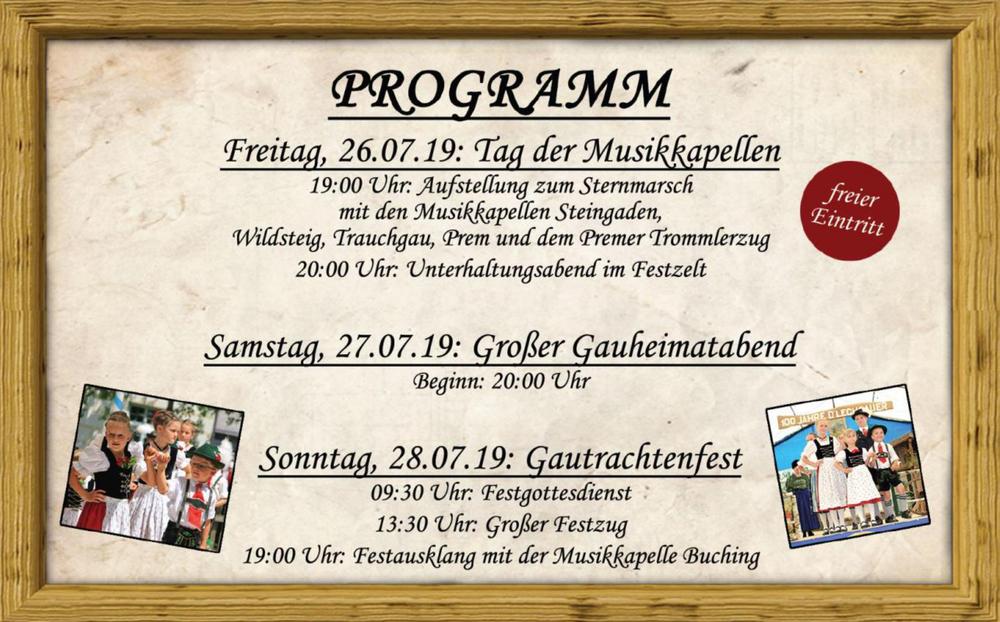 Gautrachtenfest 2019