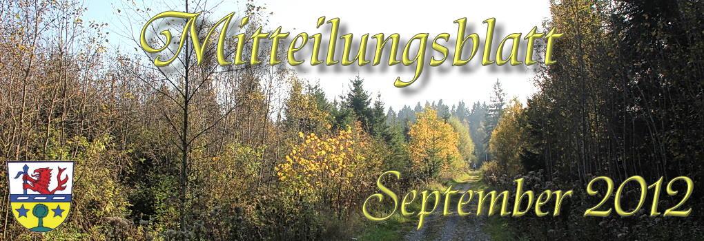 Prem am Lech - Mitteilungsblatt September 2012