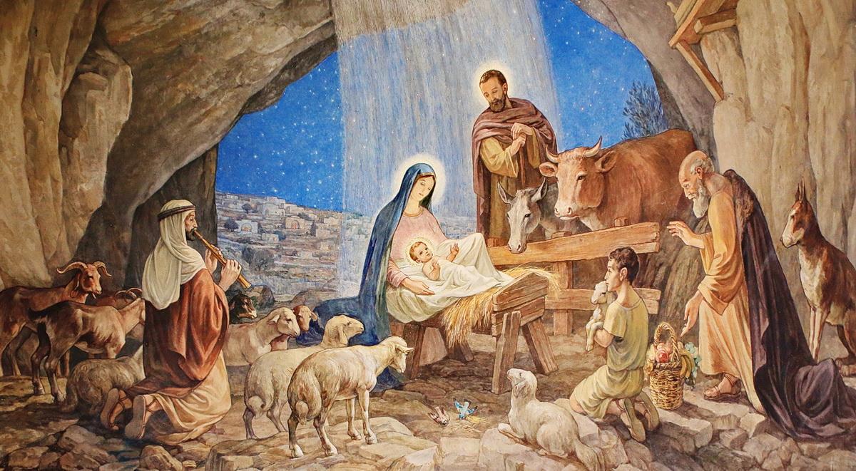 Bild aus der Verkündigungskirche in Bethlehem