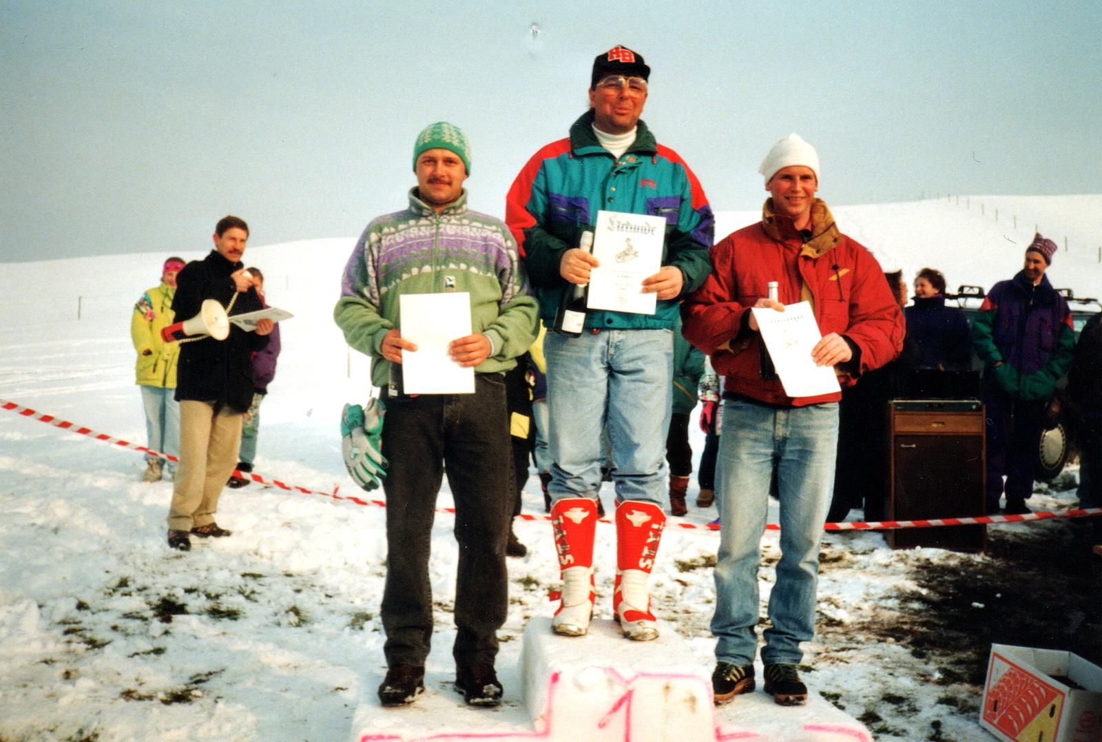 Andreas Heißerer (2. Platz); Helmut Wörle (1. Platz); Ludwig Sieber (3. Platz)
