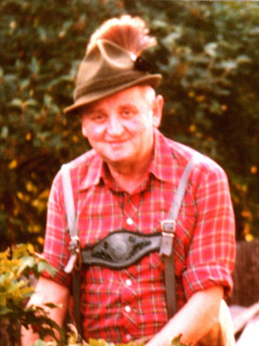 Schriftführer Edgar Wiche