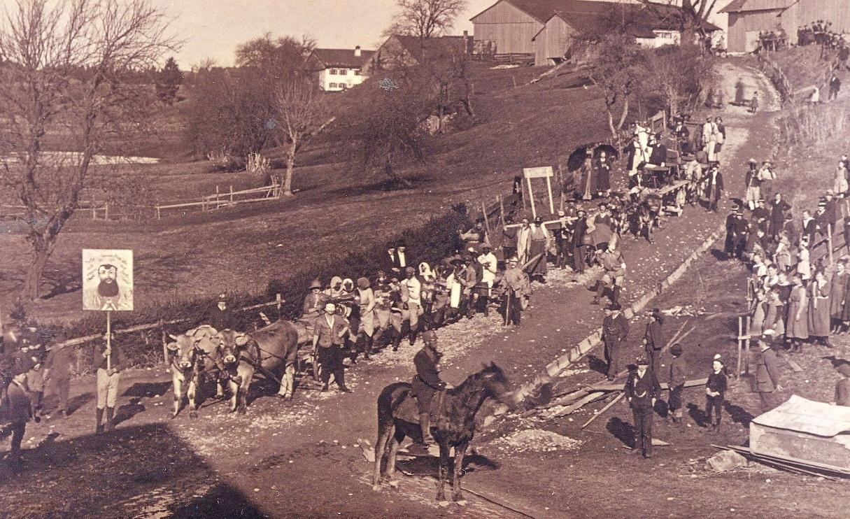 Prem am Lech - Faschingszug 1921