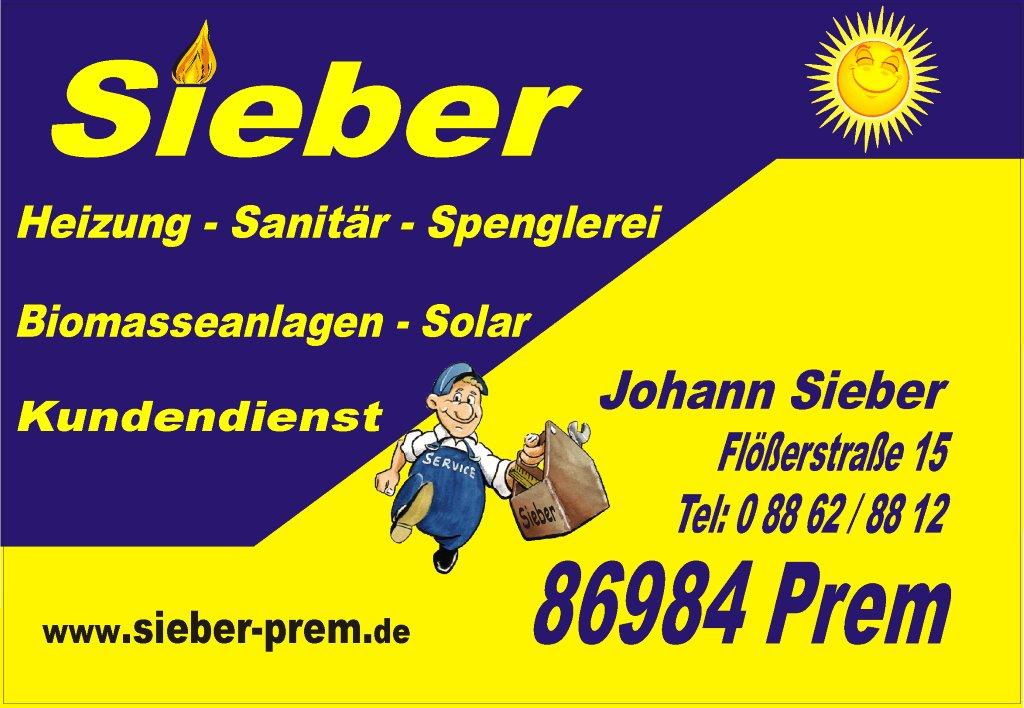 Sieber - Heizung - Sanitär - Spenglerei