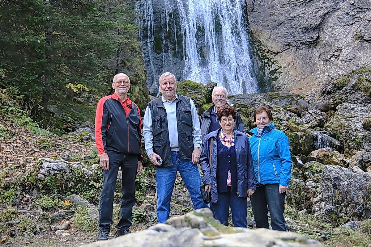 3. Aktivtag - Zum Wasserfall an der Kenzenhütte