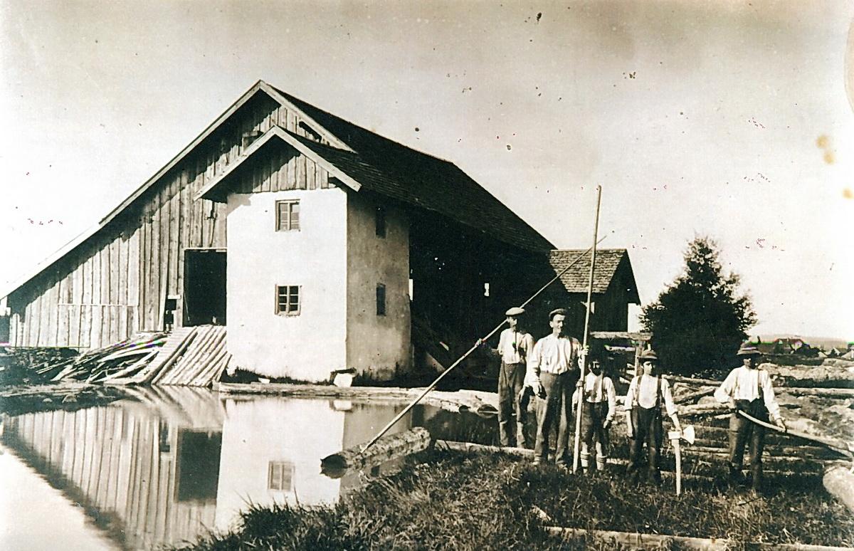 Prem am Lech - Sägewerk und Flößerei