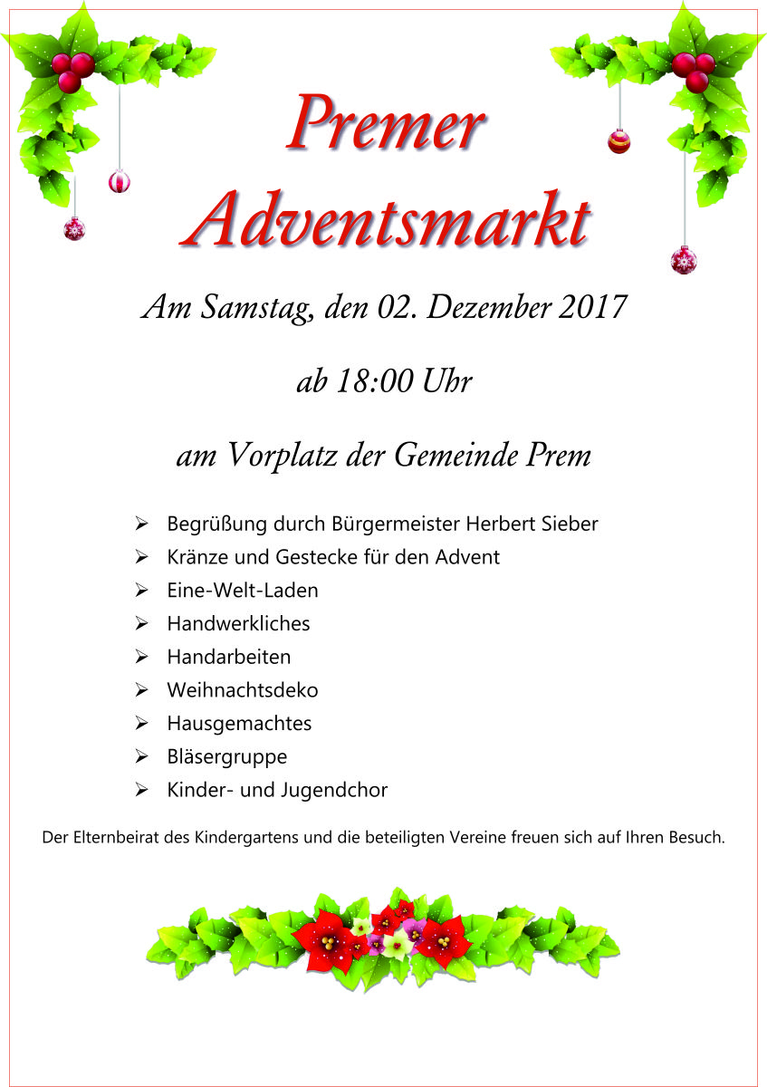 Premer Adventsmarkt
