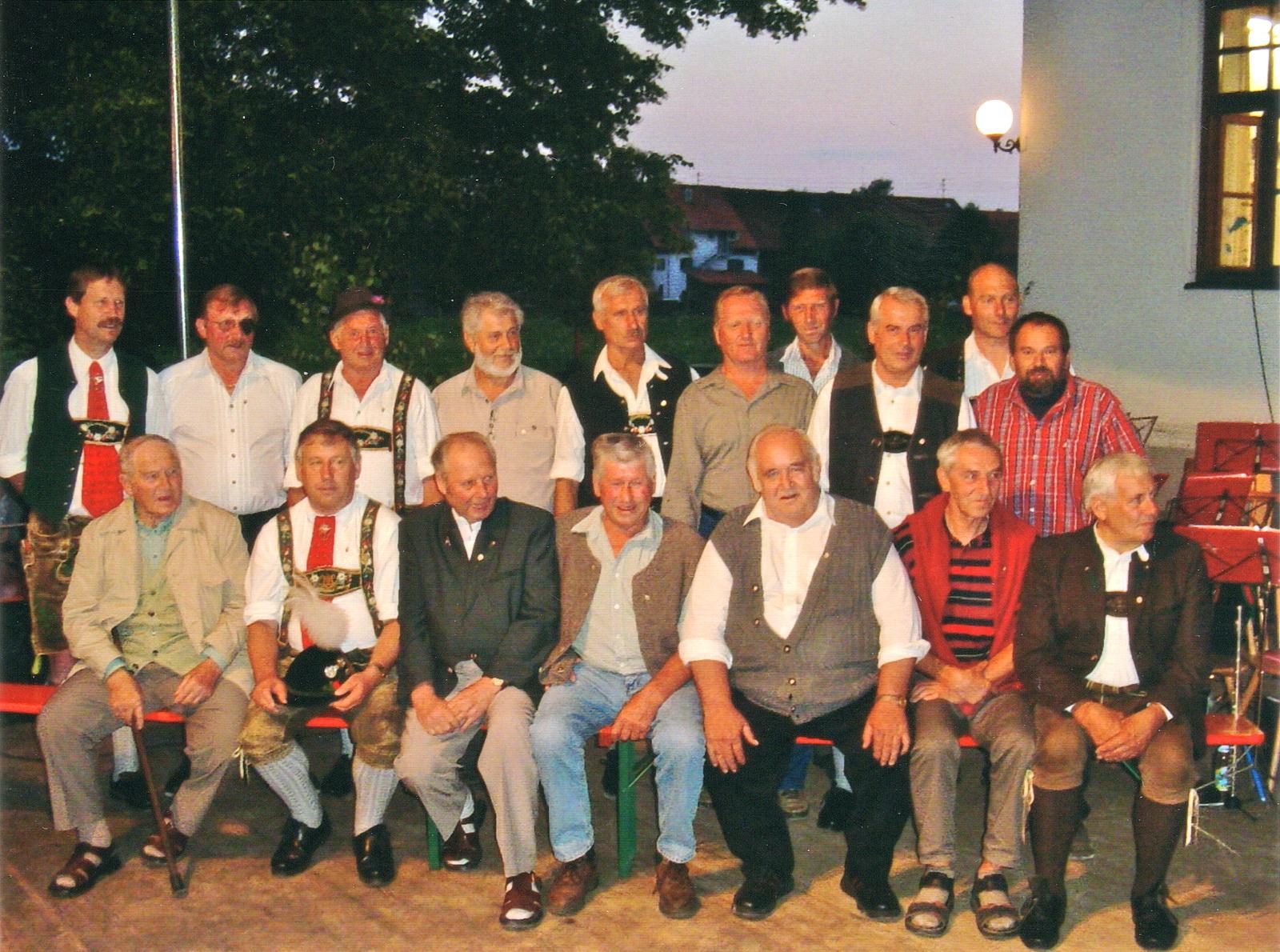 Gründungsmitglieder anlässlich des 40-jährigen Jubläums