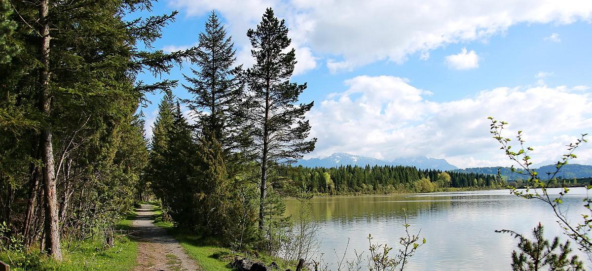 Am Lech entlang