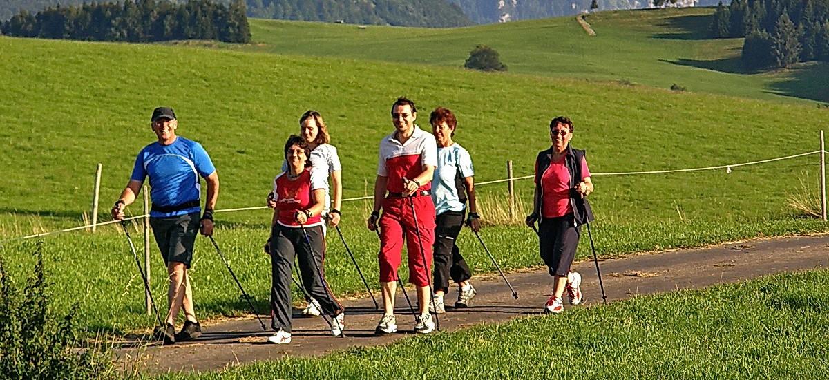 Wandern, Walken, Radeln nach Herzenslust